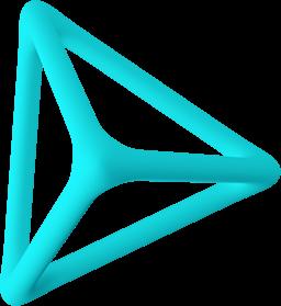floating shape left side